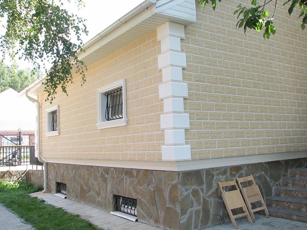 Фасадная плитка фото домов